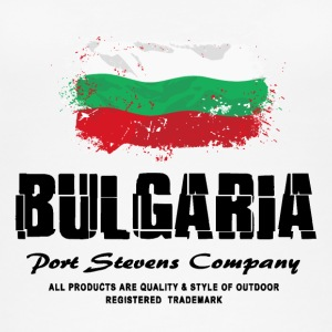 Bulgaria Flag Logo Tops - Frauen Bio Tank Top