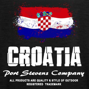 Croatia Flag Logo Tops - Frauen Tank Top von Bella