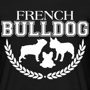 French Bulldog College - Männer T-Shirt
