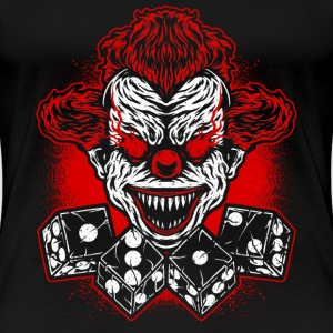 Voetbal - Club - logo - clown T-shirts - Vrouwen Premium T-shirt