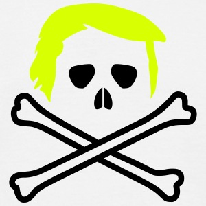 Trump Skull and Bones Vector T-Shirts - Männer T-Shirt