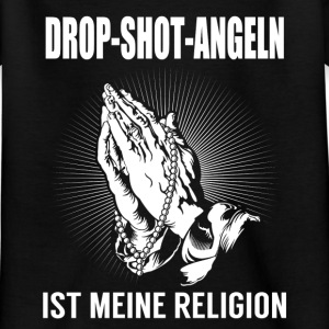 Drop shot fishing - my religion Shirts - Kids' T-Shirt