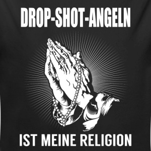 Drop shot fishing - my religion Baby Bodysuits - Longlseeve Baby Bodysuit