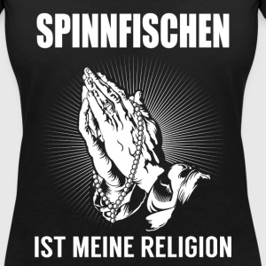 Spin fishing - my religion T-Shirts - Women's V-Neck T-Shirt