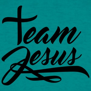 Text letter cross symbol team crew friends jesus c T-Shirts - Men's T-Shirt
