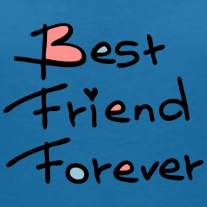 best friend forever typo Women's V-Neck T-Shirt - Women's V-Neck T-Shirt