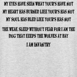 I Am Infantry - Unisex Hoodie