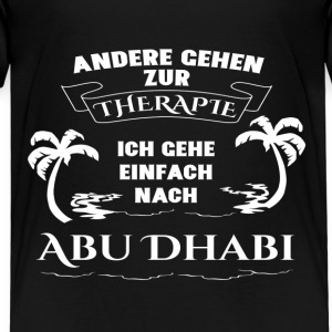 Abu Dhabi - therapy - holiday Shirts - Kids' Premium T-Shirt