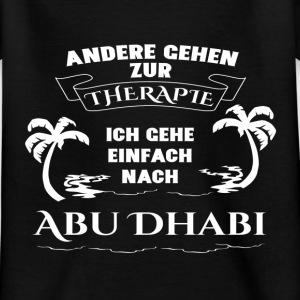 Abu Dhabi - therapy - holiday Shirts - Kids' T-Shirt