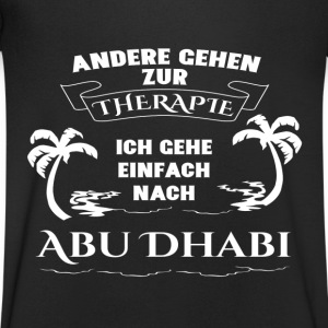 Abu Dhabi - therapy - holiday T-Shirts - Men's V-Neck T-Shirt