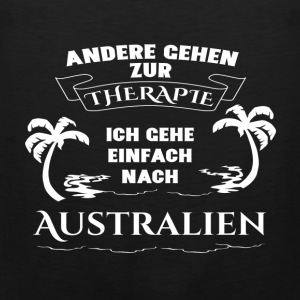 Australia - therapy - holiday Sports wear - Men's Premium Tank Top