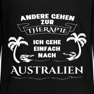 Australia - therapy - holiday Long Sleeve Shirts - Teenagers' Premium Longsleeve Shirt
