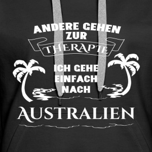 Australia - therapy - holiday Hoodies & Sweatshirts - Women's Premium Hoodie