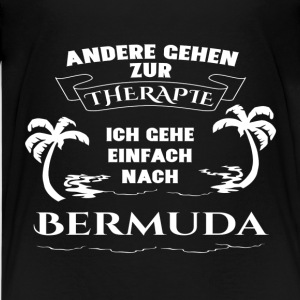 Bermuda - therapy - holiday Shirts - Teenage Premium T-Shirt