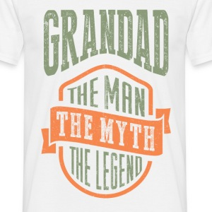 Grandad The Man The Myth | T-shirt Gift! - Men's T-Shirt
