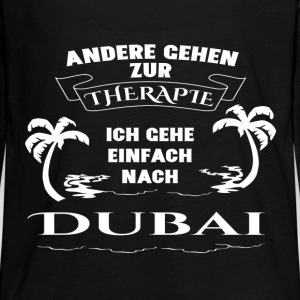 Dubai - therapy - holiday Long Sleeve Shirts - Teenagers' Premium Longsleeve Shirt