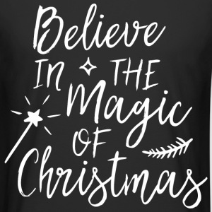 Believe in the magic of Christmas T-Shirts - Männer Urban Longshirt