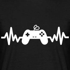 Gaming is life - geek gamer nerd  - Men's T-Shirt