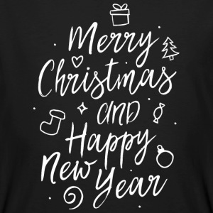 Merry Christmas and a happy new year T-Shirts - Männer Bio-T-Shirt