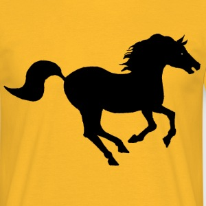 cheval au galop - T-shirt Homme