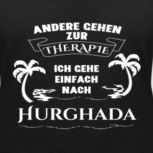 Hurghada - therapy - holiday T-Shirts - Women's V-Neck T-Shirt