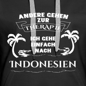 Indonesia - therapy - holiday Hoodies & Sweatshirts - Women's Premium Hoodie