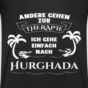 Hurghada - therapy - holiday T-Shirts - Men's V-Neck T-Shirt