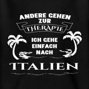 Italien - terapi - ferie T-shirts - Teenager-T-shirt