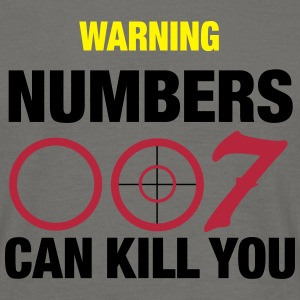 numbers can kill u_vec_3 en T-Shirts - Men's T-Shirt