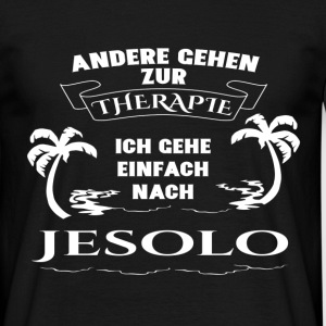 Jesolo - therapy - holiday T-Shirts - Men's T-Shirt