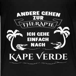 Kape Verde - Therapie - Urlaub T-Shirts - Teenager Premium T-Shirt