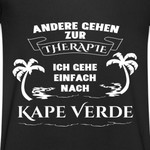 Capes Verde - therapy - holiday T-Shirts - Men's V-Neck T-Shirt