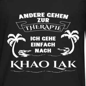 Khao Lak - therapy - holiday Long sleeve shirts - Men's Premium Longsleeve Shirt