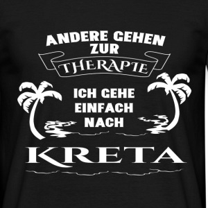 Crete - therapy - holiday T-Shirts - Men's T-Shirt
