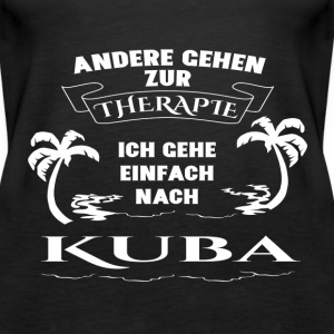 Cuba - therapy - holiday Tops - Women's Premium Tank Top
