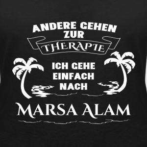 Marsa Alam - therapy - holiday T-Shirts - Women's V-Neck T-Shirt