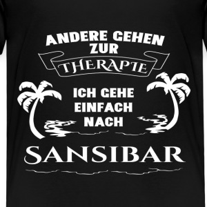 Zanzibar - therapy - holiday Shirts - Kids' Premium T-Shirt