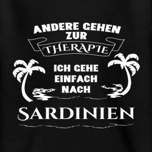 Sardinia - therapy - holiday Shirts - Teenage T-shirt