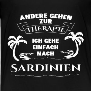 Sardinia - therapy - holiday Shirts - Teenage Premium T-Shirt