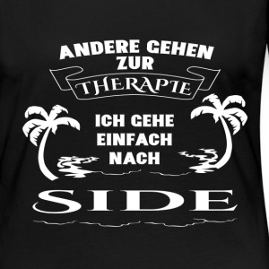 Side - therapy - holiday Long Sleeve Shirts - Women's Premium Longsleeve Shirt