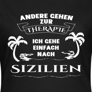 Sicily - therapy - holiday T-Shirts - Women's T-Shirt