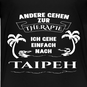 Taipei - therapy - holiday Shirts - Teenage Premium T-Shirt