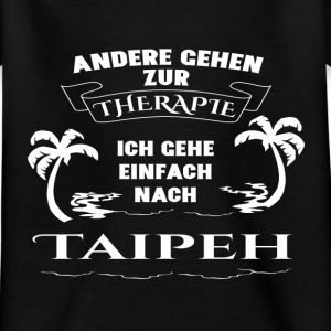 Taipei - therapy - holiday Shirts - Kids' T-Shirt