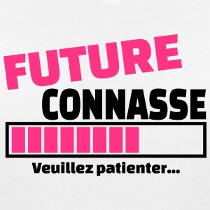 future connasse Tee shirts - T-shirt col V Femme