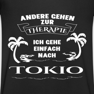 Tokyo - therapy - holiday T-Shirts - Men's V-Neck T-Shirt