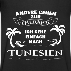 Tunisia - therapy - holiday T-Shirts - Men's V-Neck T-Shirt