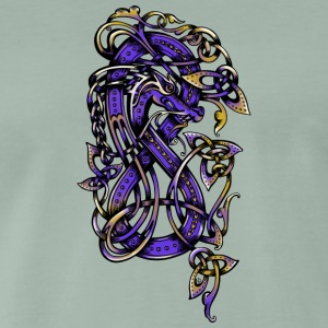 Purple Dragon - Men's Premium T-Shirt