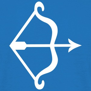bow and arrow T-shirts - Herre-T-shirt
