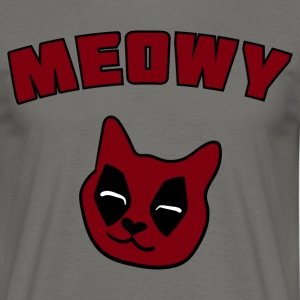 MEOWY CAT DEADPOOL T-Shirts - Männer T-Shirt