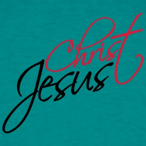 lettrage christian logo cool, texte jésus christ Tee shirts - T-shirt Homme